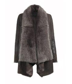 Pasco Jacket - sheepskin- AllSaints Spitalfields... Best Coat Ever!