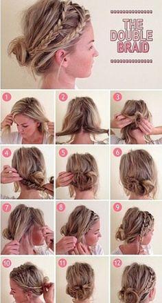 Hair style #hair #style #hairstyle #bun #hair #style #hairstyle #color #haircolor #colorful #women #girl #style #trend #fashion #long #natural #tutorail #how #braid #bun