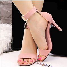 $19.47 (Buy here: https://alitems.com/g/1e8d114494ebda23ff8b16525dc3e8/?i=5&ulp=https%3A%2F%2Fwww.aliexpress.com%2Fitem%2F2015-new-stylish-Sandal-Summer-Sexy-High-Heel-Sandals-Ankle-Strap-PU-Leather-Woman-Shoes-High%2F32325999784.html ) SUMMER stylish heels Sandals shoes women 2015 Sexy High Heels Sandals Ankle Strap PU Leather Woman Shoes party weeding shoes for just $19.47