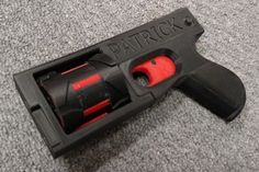 The first 3D-printed revolver fires 8 shots, just add a roofing nail and elastic