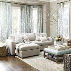 Where to buy area rugs? Find the perfect area rug for your space and style at Ballard Designs. Shop living room rugs, dining room rugs and more! Good Living Room Colors, Living Room Color Schemes, Living Room Designs, Coastal Living Rooms, Living Room Decor, Living Area, Sofas, Couches, Boudoir