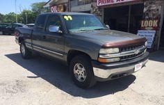 1999 Chevrolet Silverado 1500 LS Z71 | $4995 | Prime Auto Sales - Omaha, NE | 402-715-4222 | #chevy #chevrolet #silverado #pickuptruck #truck #pickemuptruck #4x4 #merica #omaha #auto #primeauto