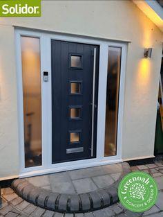 Solidor Composite Door. Hornchurch Essex Composite Door, Folding Doors, Garage Doors, Patio, Outdoor Decor, Home Decor, Accordion Doors, Decoration Home, Room Decor