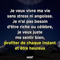 Trouvée sur Bing s… Mots Forts, Message Positif, Good Quotes For Instagram, Quote Citation, Strong Words, French Quotes, Favorite Words, Positive Attitude, Positive Affirmations