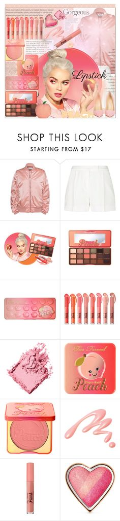 """""""Lipstick perfect pout"""" by licethfashion ❤ liked on Polyvore featuring beauty, Tiffany & Co., Acne Studios, Elie Saab, Too Faced Cosmetics, Bobbi Brown Cosmetics, Chantecaille, Christian Louboutin, polyvoreeditorial and licethfashion"""