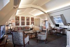Imperial Suite at the Napoleon Hotel Paris.  www.hotelnapoleon.com