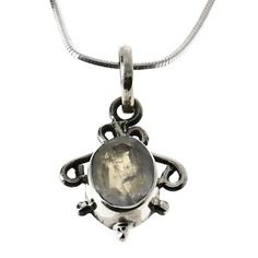 Pendentif design femmes - Pendentif en Argent et gemme: ShalinCraft: Amazon.fr: Bijoux