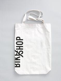 BIKE SHOP / branding & web on the Behance Network  dope tassie maken is ook nice. die kun je wel dope zeefdrukken