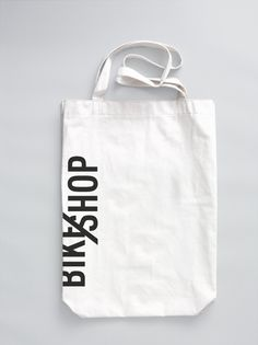 BIKE SHOP / branding & web by Line Otto, via Behance