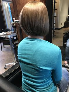 A-line cut. Stacked Bob. Graduated Bob. Fort Collins Hair. Fort Collins Salon. Salon Salon Fort Collins. Beauty by Allison.