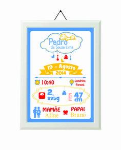 Pôster de Nascimento Nuvem  - Newborn Poster