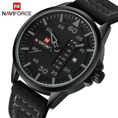 Watches for Men - NaviForce Sports Quartz - Military style