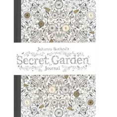 Johanna Basford's Secret Garden Journal #secretgardens