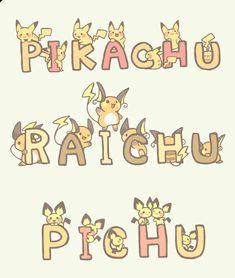 Pichu Pikachu Raichu, Mudkip, Pokemon Eeveelutions, Pokemon Pins, Pokemon Comics, Pokemon Fan Art, Pokemon Go, Pokemon Fusion, Pokemon Cards