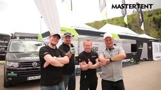 Setup of a MASTERTENT folding tent by the Merida Bike Team Germany!
