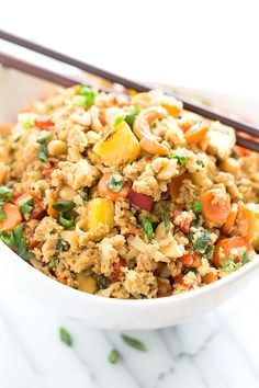 21. Paleo Pineapple Fried Rice #paleo #dinner #recipes http://greatist.com/eat/paleo-recipes-easy-and-delicious-dinners