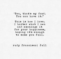 Full. Rudy Francisco.