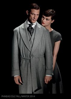 Phineas Cole Presents Elegant Suits for Gotham Inspired Fall 2014 Collection image Phineas Cole Fall Winter 2014 Collection 005