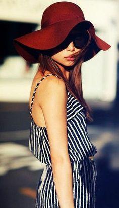 fahion hat