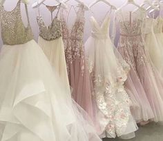 Hailey Page wedding dresses