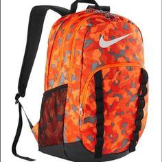6dabba78a54c Nike Brasilia 7 Backpack Graphic XL Backpack.Total Orange Black Black. 20