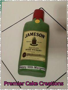 Jamieson whiskey bottle