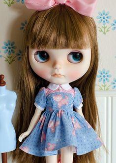 Dress for Blythe Number 91 | PlasticFashion - Dolls & Miniatures on ArtFire