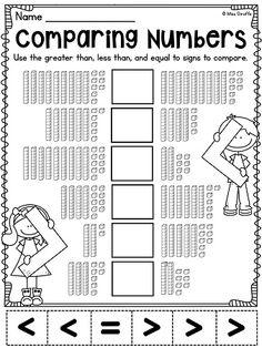 Hojas de ejercicios para trabajar el sistema decimal