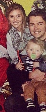 damianmcginty: SANTA!!!!! Damian McGinty Anna Claire Sneed