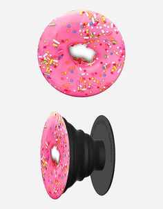POPSOCKETS Pink Donut Phone Stand And Grip