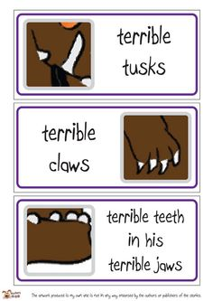 Teacher's Pet - Gruffalo Story Labels - FREE Classroom Display Resource - EYFS, KS1, KS2, julia, donaldson, grufalo, mouse, snake, owl, fox, monsters, monster, story, stories Gruffalo Activities, Gruffalo Party, The Gruffalo, Kindergarten Activities, Classroom Activities, Preschool Activities, Story Sack, Labels Free, Teacher's Pet