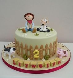 Down on the farm by The Buttercream Pantry