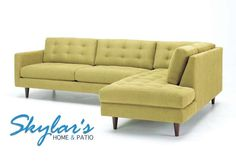 Mid Century Modern Sectional - Made in USA