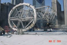 What's Inside the Bean? Photos Show the Building of 'Cloud Gate' - Downtown - DNAinfo.com Chicago