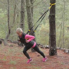 Now that the weather is warming up, ditch the stuffy gym for this outdoor TRX workout perfect for the beach or park. Dan McDonogh, senior master trainer with TRX, walks you through four moves