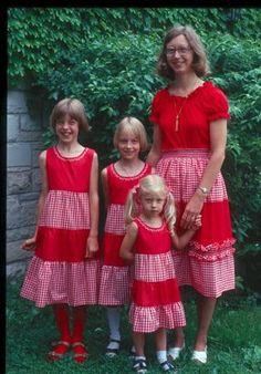 matching mom & girls