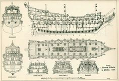 Ship plans that would be great as a pirate ship for use inside my museum. #pirates #ship #business ideas