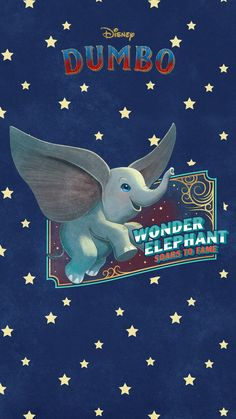 Celebrate the arrival of Disney's Dumbo with these adorable vintage-style mobile wallpapers. Disney Background, Cartoon Background, Disney Movie Scenes, Disney Movies, Disney Diy, Disney Magic, Cute Panda Drawing, Bedknobs And Broomsticks, Baby Dumbo