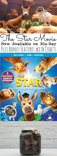 If you're looking for a fun family movie, then check out The Star Movie now available on Blu-Ray! Including Bonus features with crafts, recipes, and sing-alongs for the kids! - simplytodaylife.com via @SimplyTodayLife