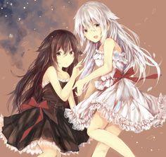 Alyss et alice de Pandora hearts