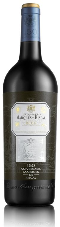 Marqués de Riscal Gran Reserva 2004 150 Aniversario Whiskey Bottle, Red Wine, Alcoholic Drinks, Cheers, Glass, French Oak, Wine Cellars, French Tips, Red Wines