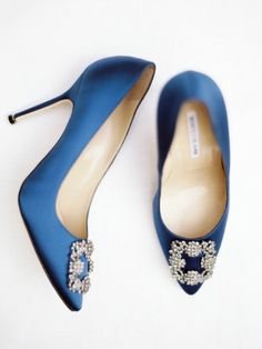 Classic blue: http://www.stylemepretty.com/2015/10/12/our-fave-manolo-blahnik-shoes-for-the-bride/