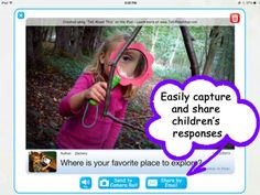 Tell About This Free ($0.00) an easy platform to inspire and capture children's thoughts and stories! Respond to interesting photo prompts using voice, craft custom prompts and add profiles to personalize the experience!  Try all features and enjoy a sample prompt in each category in the free version. CREATE YOUR OWN Use your photos, ideas and voice to spark unique Tell Abouts!