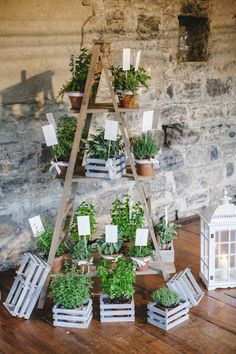 Shabby Chic Archives - Cute Home Designs Herb Centerpieces, Wedding Centerpieces, Wedding Table Seating, Wedding Reception Decorations, Tableau Marriage, Wedding Of The Year, Wedding Day Inspiration, Green Party, Flower Lights