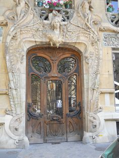 I love the doors of Europe and I see I am not alone. Many people take these pics and post them.