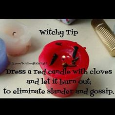 Witchy Tip to eliminate slander and gossip.