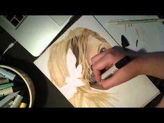 Karin- Time-lapse drawing
