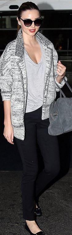 e6d831f42456 Miranda Kerr  Pants – Frame Denim Sunglasses – Stella McCartney Purse –  Balmain Pierre Shirt