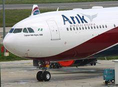 A340-500, Arik Air