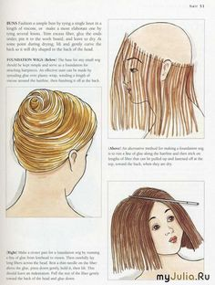 more options for fixing hair for a doll